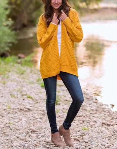 New Pure Cardigan Knit Sweaters