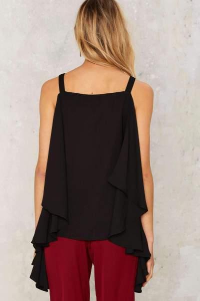 Summer Vest Off shoulder Chiffon T-Shirts