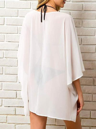 Chiffon thin women summer cardigan blouses