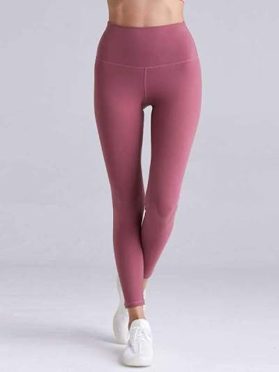 Slim Plain women long yoga pants