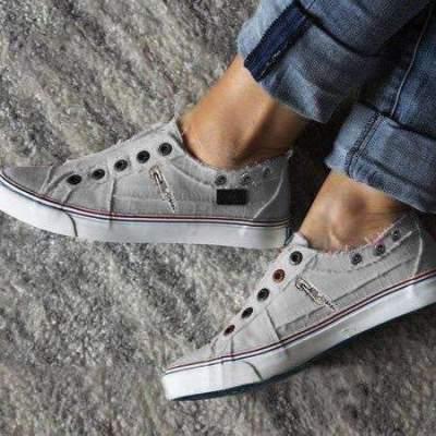 Casual Fashion Plus Flattie Canvas Flat & Loafers