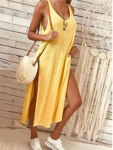 Fashion Vent Pure Maxi Dresses