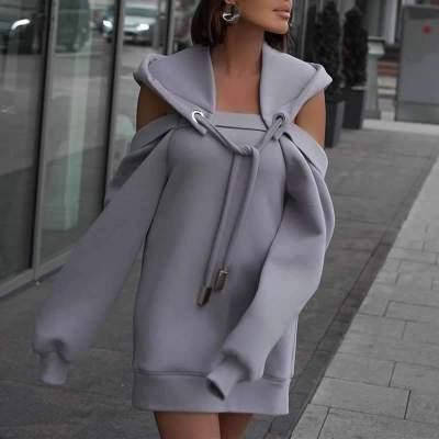 Fashion Casual Pure Long sleeve Hoodies Sweatshirts