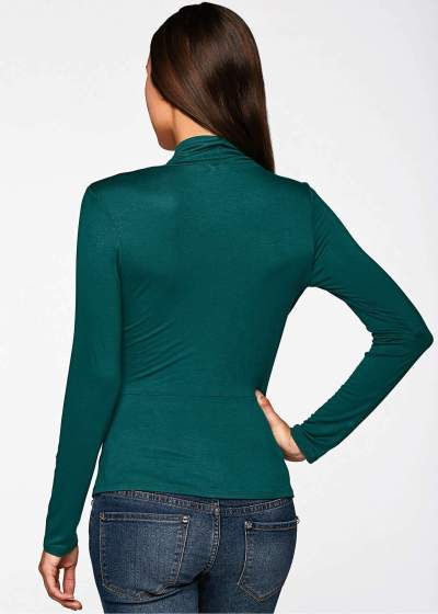 Fashion Drape Plus Tee Long sleeve T-Shirts