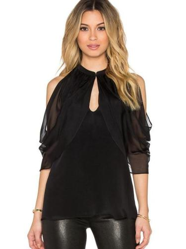 Hollow Sexy Strapless Off Shoulder Blouse