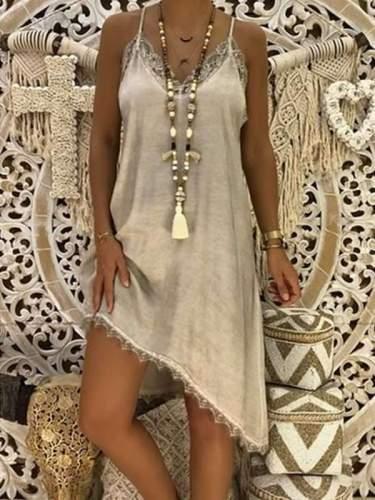 Fashion Slim Lace Strapless  Shift Dresses