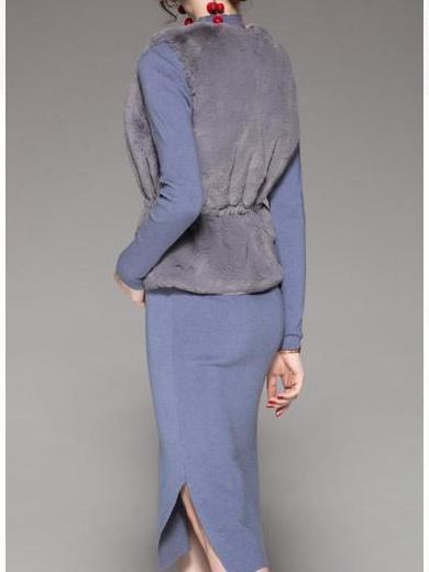 New Fashion Dress Vest Women Suit