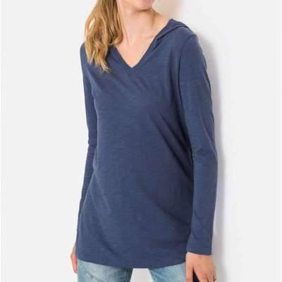 Loose Pure Hoodies Long sleeve T-Shirts