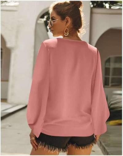 Fashion Loose Long sleeve Plus T-Shirts