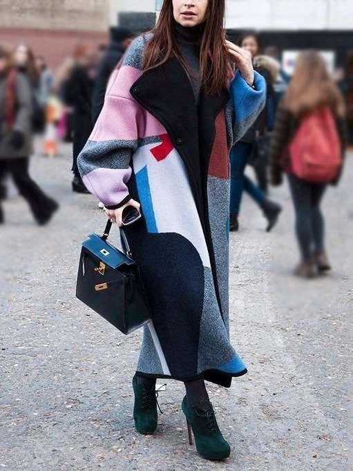Fashion Plus Long sleeve Lapel  Coats
