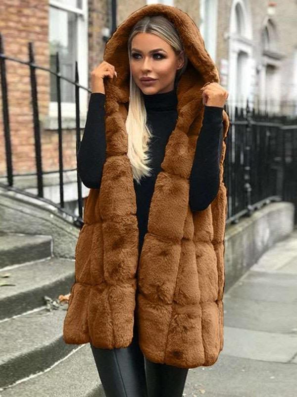 Fashion Pure Hoodies Plush Jackets