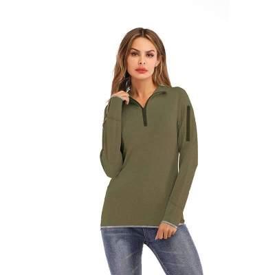 Fashion High Collar Long sleeve Sweatshirts