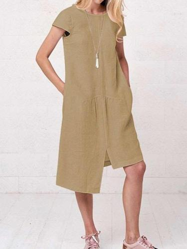 Casual Loose Irregular Maxi Dresses