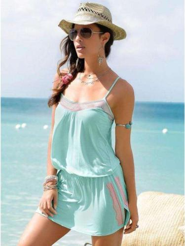 Casual Sexy Beach  Vest Shift Dresses