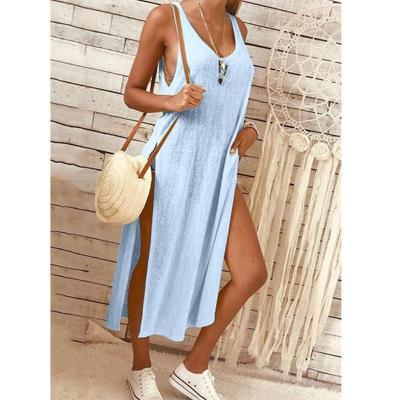 Fashion Vent Pure Maxi Dresses