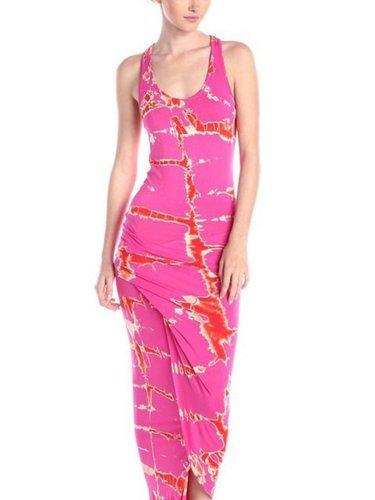 Sexy Floral Vest Maxi Dresses