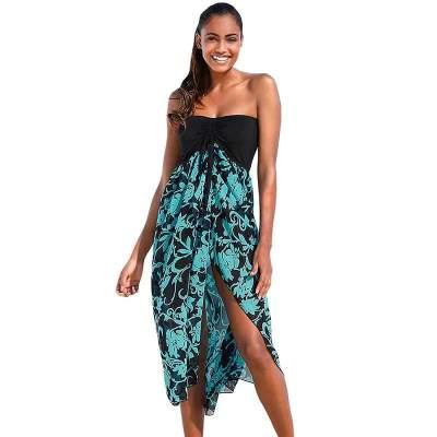 Fashion Floral Beach Shift Dresses