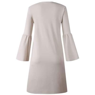 Fashion Mandarin sleeve Pocket Cardigan Coats