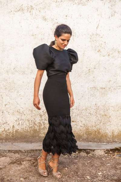 Fashion Round neck Half sleeve  Two-piece Bodycon Dresses
