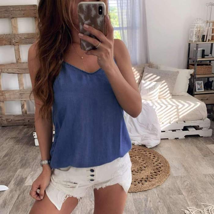 Sexy Backless  Bowknot Vests
