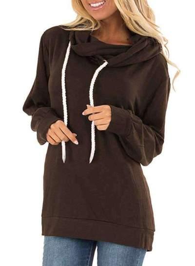 Fashion Loose Long sleeve Hoodies Sweatshirts