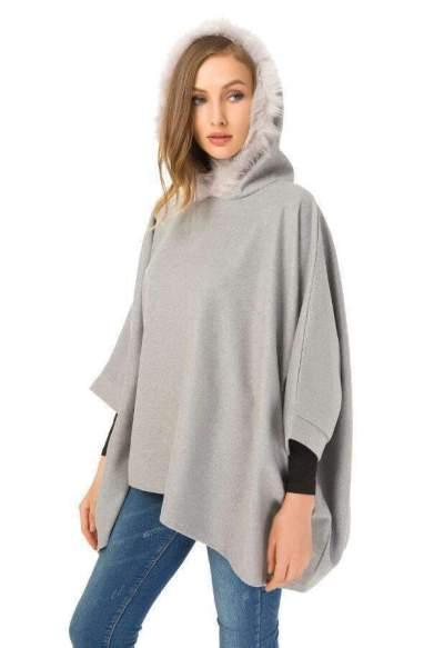 Fashion Pure Long sleeve Cloak Hoodies Sweatshirts