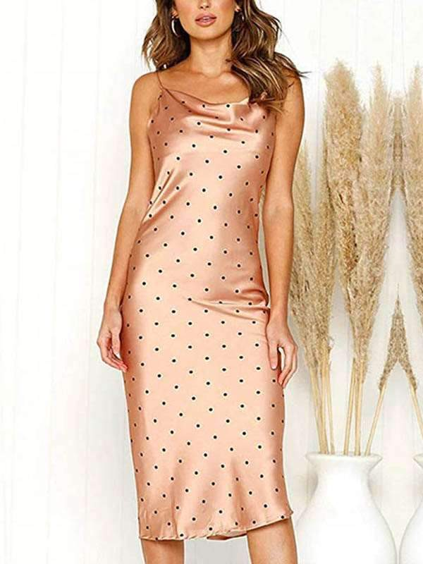 Sexy Party Leopard printed Wave Dot Strapless Bodycon Dresses