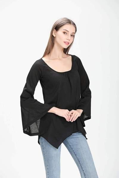 Pure Irregular Batwing sleeve T-Shirts