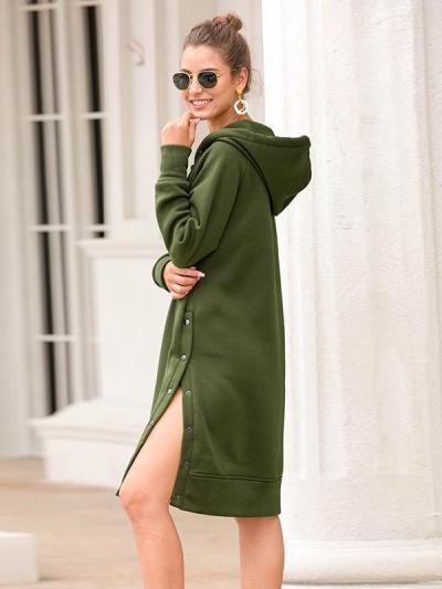 Women hoodied long sleeve plain casual hoodies