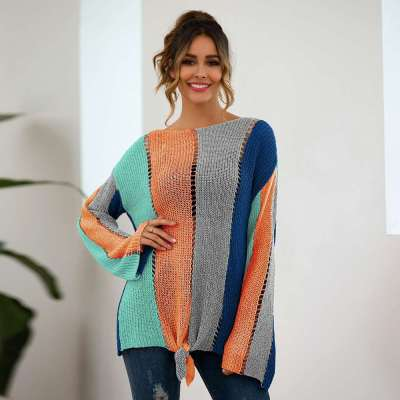 Fashion Loose Gored Long sleeve Sweaters