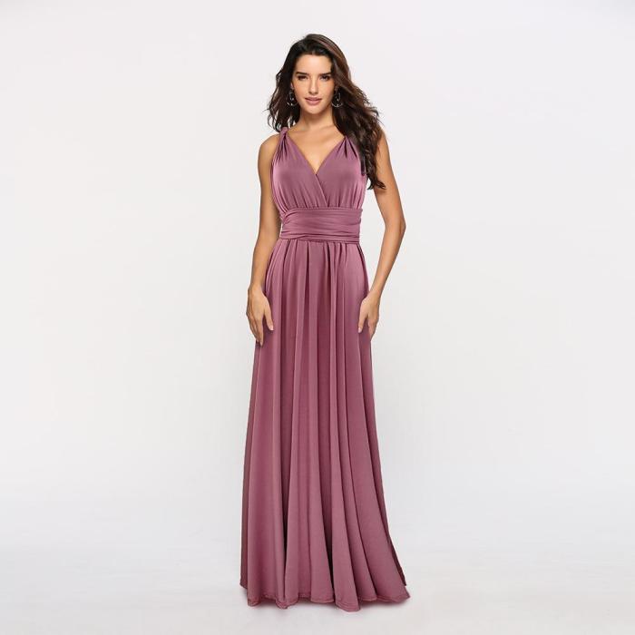 Sexy Multi-way Backless Ligature Evening Dresses