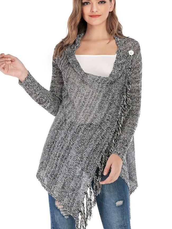 Fashion Purl Pure Knit Sweater Cardigan