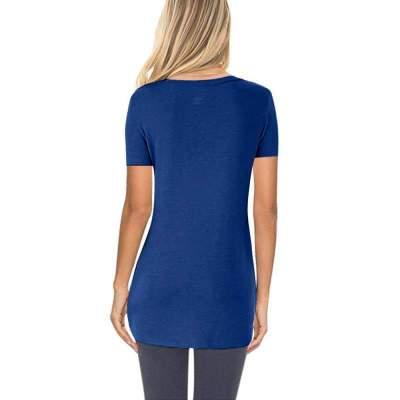 Fashion Fastener Pure Short sleeve T-Shirts
