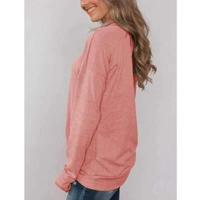 Fashion Pure Pile collar Long sleeve T-Shirts