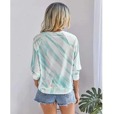 Fashion Casual Shtripe Round neck Long sleeve T-Shirts