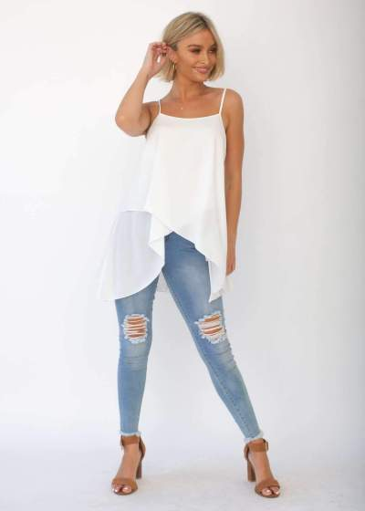 Sexy Loose Irregular Vests