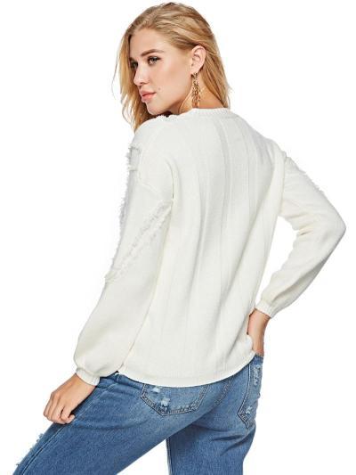 New Women Knit V neck Sweaters