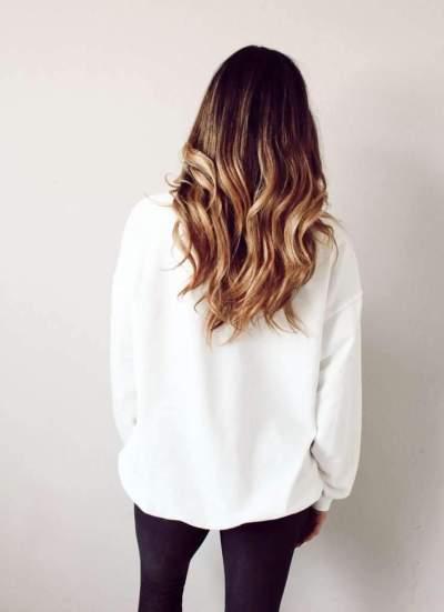 Fashion Casual Print Round neck Long sleeve Sweatshirts