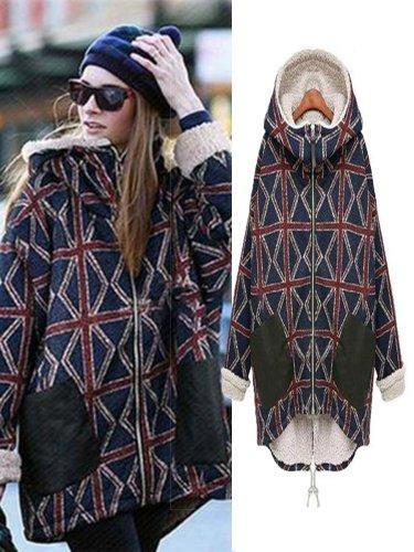 Autumn Winter Jacket Women Woolen Coats