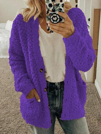 Casual sweater long sleeve Cardigans sweaters