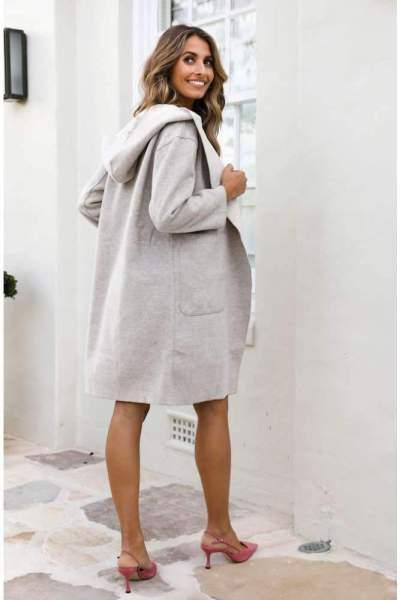 Pure Long sleeve Hoodies Coats