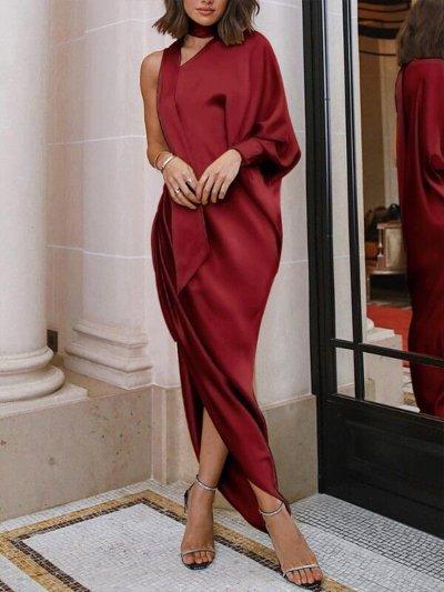 More Colors Woman Fashion Stylish Long Evening Dress
