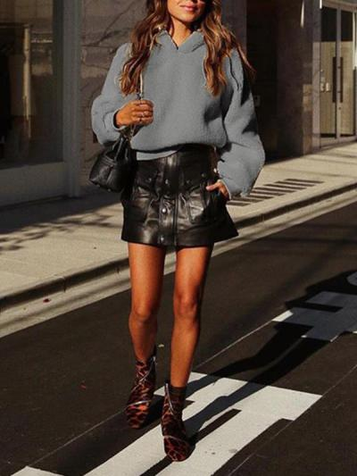 Casual Long sleeve Women hoodies