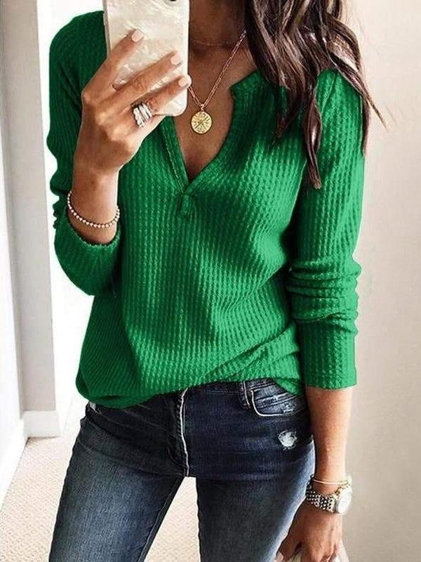 Fashion Knit Loose Women T-Shirts