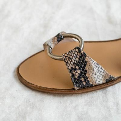 Comfortable flat Peep Toe casual chic sandals