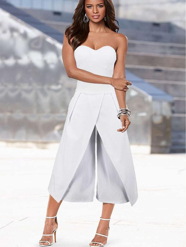 Sexy Off shoulder Tee Jumpsuits