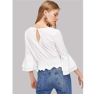Fashion Pure Round neck T-Shirts