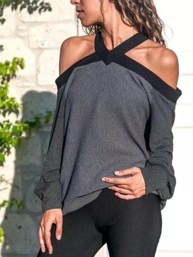 Sexy Off Shoulder Knit T-Shirts