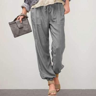 Fashion Casual Pure Pencil Pants