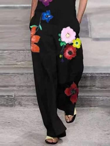 Women stylish Cotton and linen jumpsuits
